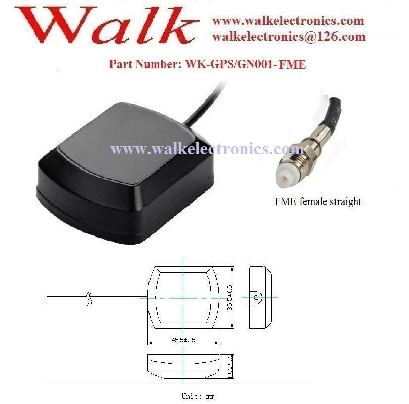GPS/Glonass Active Car Antenna: Magnetic or adhesive mount, FME connector 2
