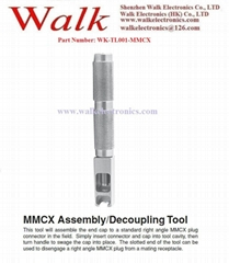 MMCX Assembly/Decoupling Tool/RF cable assembly tool: Similiar to 141-0000-910