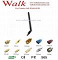 FME female 868MHz flexible rubber Antenna elbow 868MHz UHF stubby antenna 1