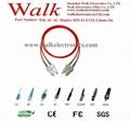 Optical Fiber Patch Cord,fiber jumper cable,duplex SC to SC, multi mode 62.5/125 1