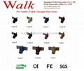 FAKRA male straight plate serie for
