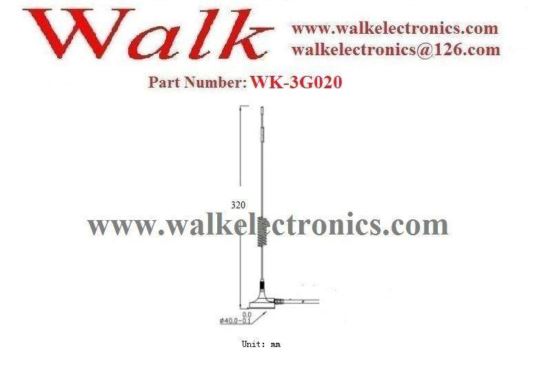 high gain gsm antenna, 9dbi GSM 3G Antenna:Whip car antenna, Magnetic mount 2