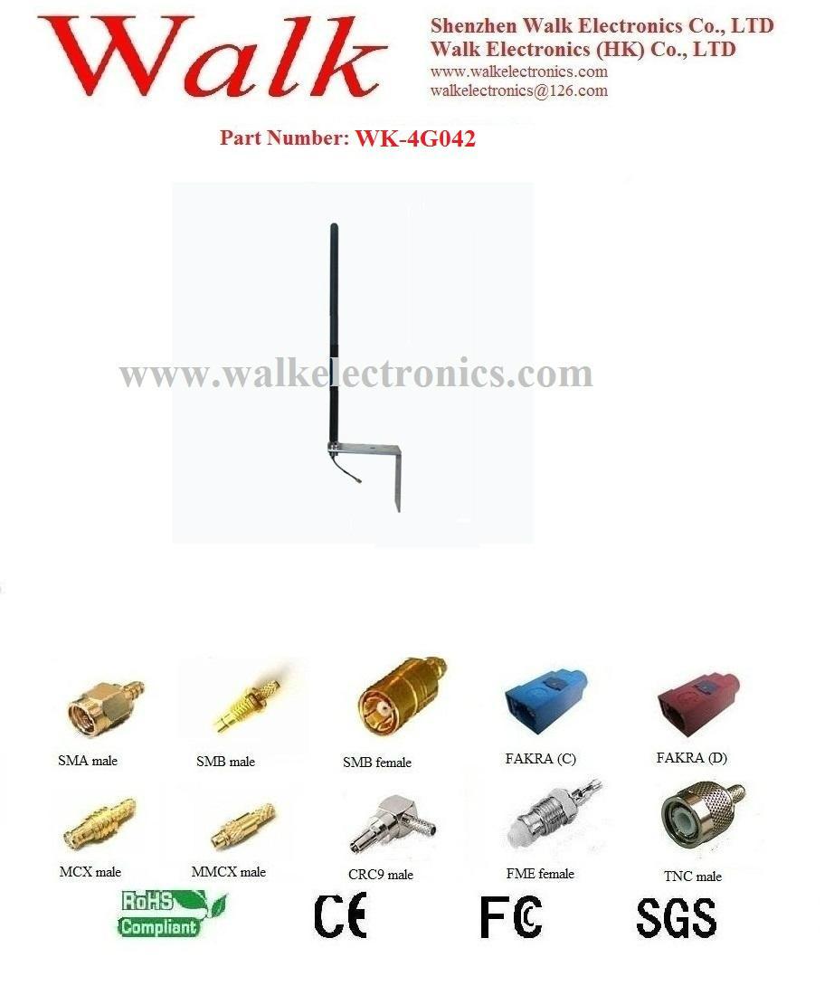 outdoor GSM 3G 4G LTE antenna, high gain wall mount 3g 4G LTE antenna, bracket
