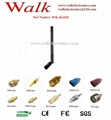 4G LTE antenna, 4g antenna, rubber antenna: rotatable, SMA male straight