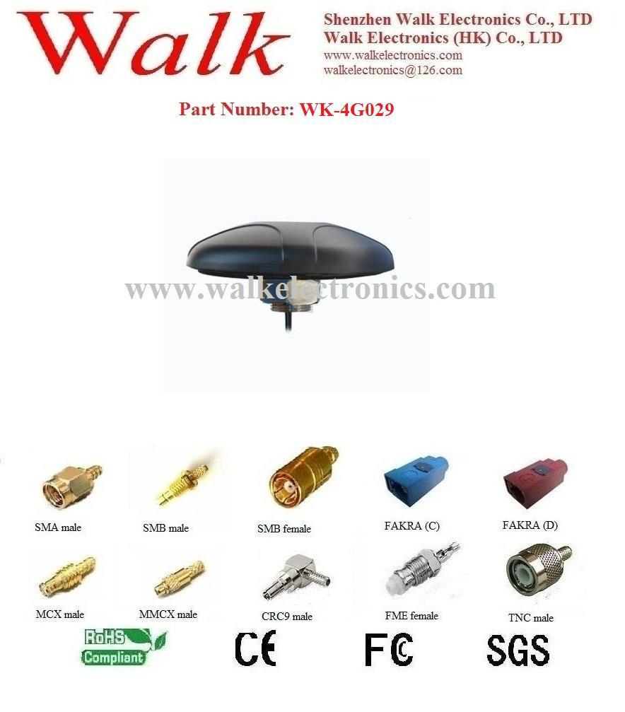 screw mount 4g lte Antenna, lte 4g car antenna, outdoor use 4g lte antenna, 5dbi 1
