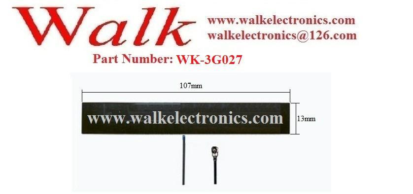 GSM 3G pcb Antenna, GSM PCB antenna, 3g built in antenna, u.fl 2