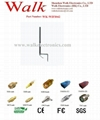 bracket mount wifi antenna, wall mount 2.4GHz antenna, screw mount 2.4GHz, 7dbi