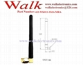 433MHz rubber antenna(433-WK011), SMA male right angle, 3dbi 2