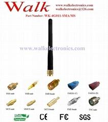 4G LTE antenna, 4g antenna, rubber antenna, SMA male straight stubby antenna