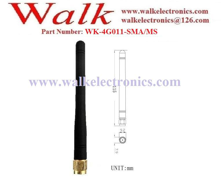 4G LTE antenna, 4g antenna, rubber antenna, SMA male straight stubby antenna 2