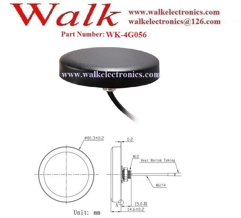 omni directional FME female 5dbi gain outdoor screw mount GSM 3g 4g lte antenna 2