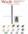 58cm 9dbi high gain SMA male weather proof pole mount gsm 3g fiber glass antenna