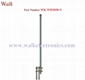 60cm length n male 12 dbi high gain waterproof wifi 2.4GHz fiber glass antenna