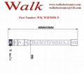 60cm length n male 12 dbi high gain waterproof wifi 2.4GHz fiber glass antenna 2