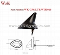 waterproof outdoor use screw mount shark fin GPS 3g 4g lte wifi combo antenna