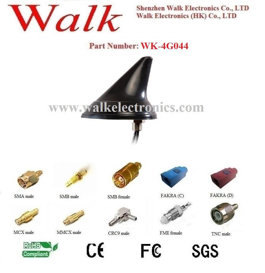 shark fin waterproof outdoor use screw mount GSM 3G 4g lte car Antenna