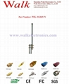 N male 35cm 6.0dbi high gain outdoor use pole mount gsm 3g glass fiber antenna