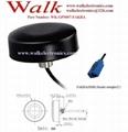 outdoor high gain GPS Active car Antenna screw mount, waterproof, fakra female