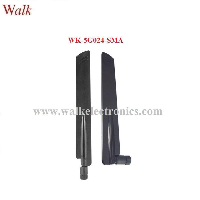 wide range 600-6000MHz 2g 3g 4g 5G omni direction 5dBi SMA rubber antenna 1