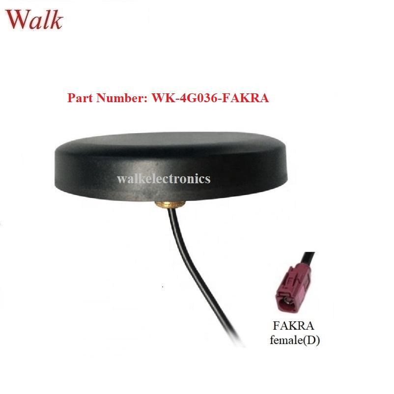 waterproof outdoor GSM 3g 4g lte Antenna, screw mount 4g antenna, FAKRA female 1