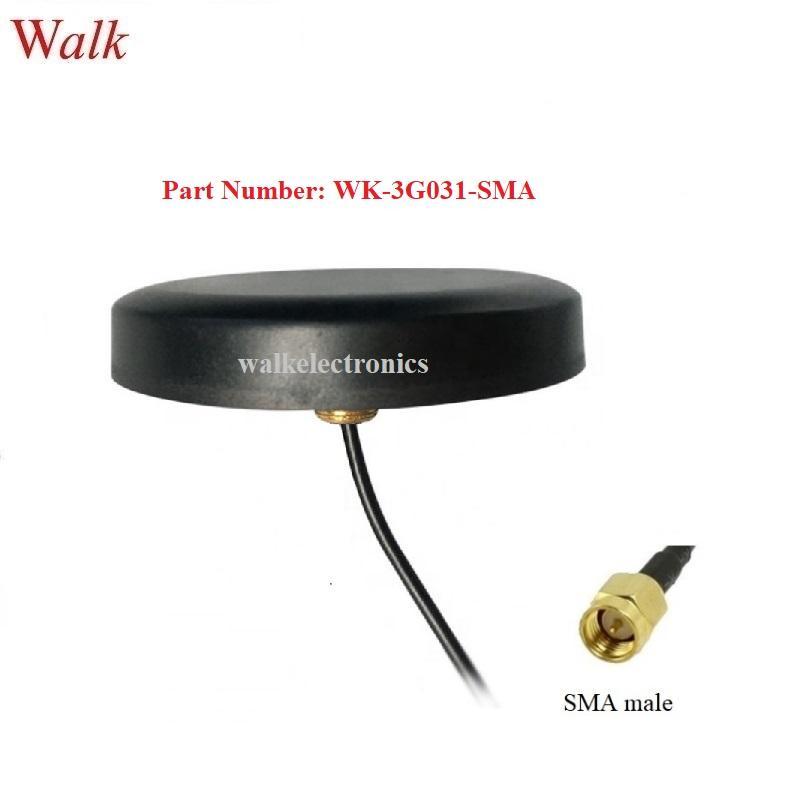 sma male IP67 waterproof outdoor use  screw mount high gain gprs GSM 3G antenna 1