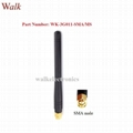 SMA male straight 115mm gsm 3g rubber