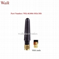 sma male straight 50mm short length gprs 3g 4g lte stubby rubber antenna