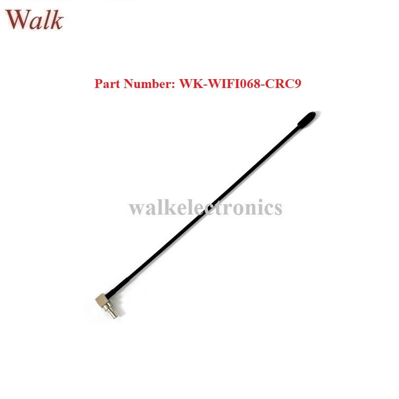 omni directional 5dBi high gain CRC9 male right angle 2.4GHz WIFI aerial 1