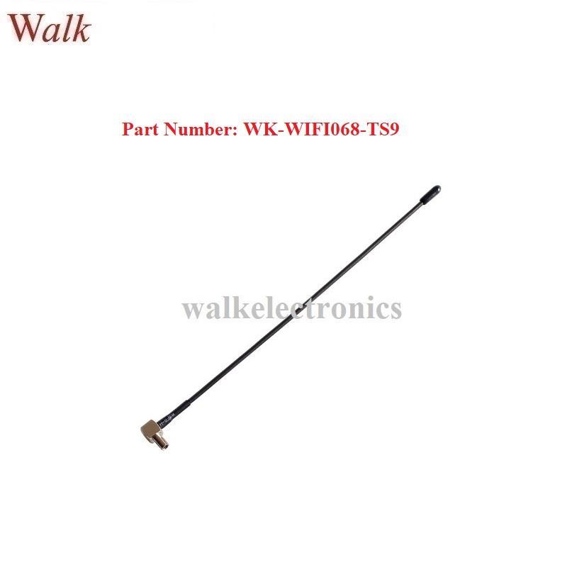omni directional 5dBi high gain TS9 male right angle 2.4GHz WIFI antenna 1