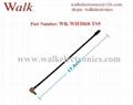 omni directional 5dBi high gain TS9 male right angle 2.4GHz WIFI antenna 2