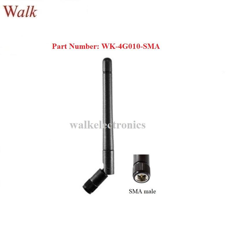 omni directional elbow SMA male 4G LTE rubber antenna with movable joint antenna 1