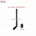 omni directional elbow SMA male 4G LTE rubber antenna with movable joint antenna