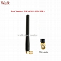 110mm high omni directional SMA male angle gsm 3g 4G LTE rubber sma antenna  1