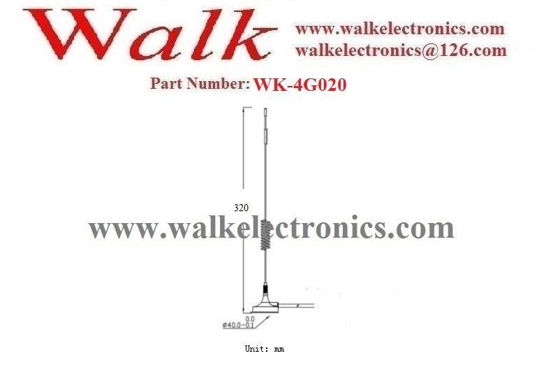 9.0dBi omni directionalal magnetic mount gsm 3g LTE 4g whip car antenna 2