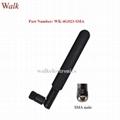 160mm 5dbi high gain omni directional SMA flexible gsm 3g 4g lte rubber antenna