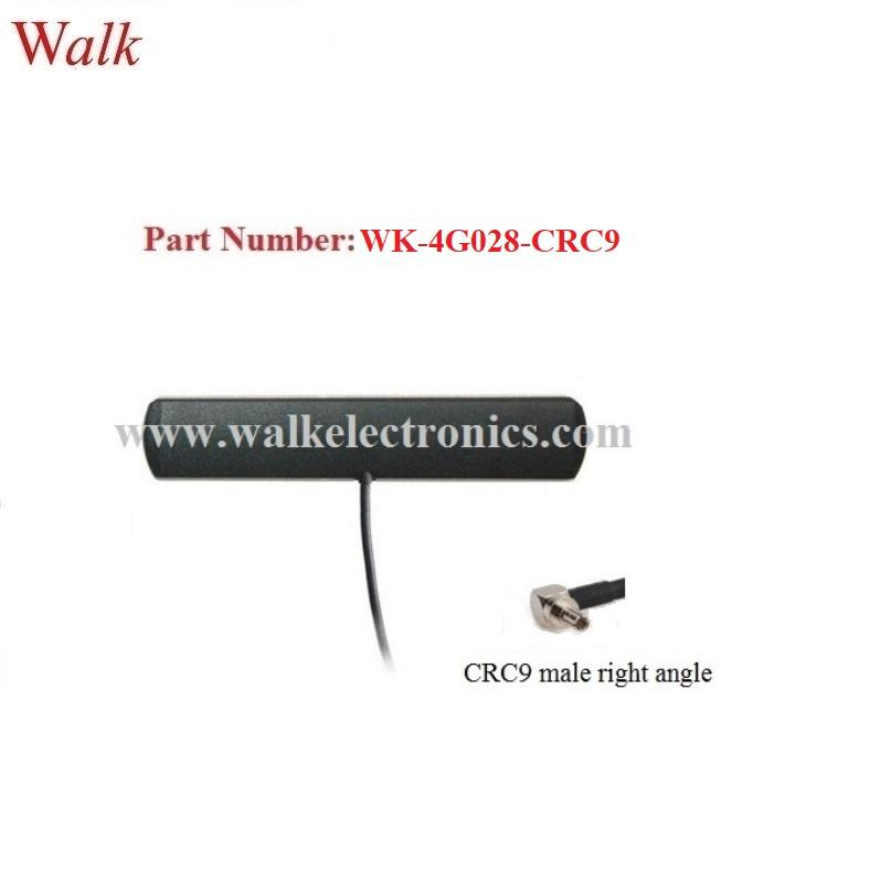 CRC9 male indoor use adhesive mount omni direction gsm 3g 4g lte patch antenna  1