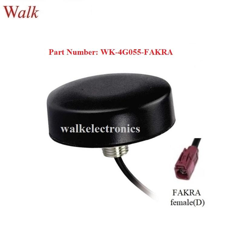 FAKRA omni direction small waterproof outdoor screw mount GSM 3g 4g lte antenna 1