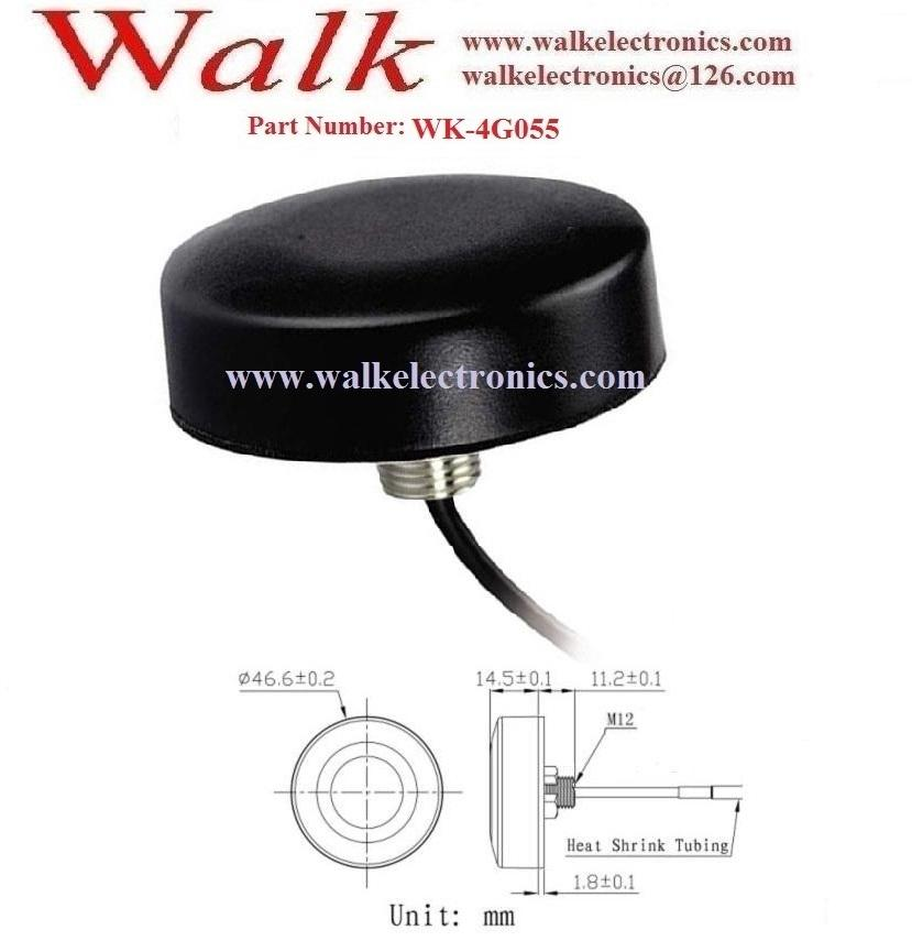 FAKRA omni direction small waterproof outdoor screw mount GSM 3g 4g lte antenna 2