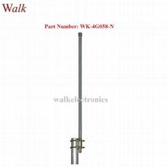 60cm 9dbi high gain N male weatherproof gsm 3g 4G LTE fiber glass antenna