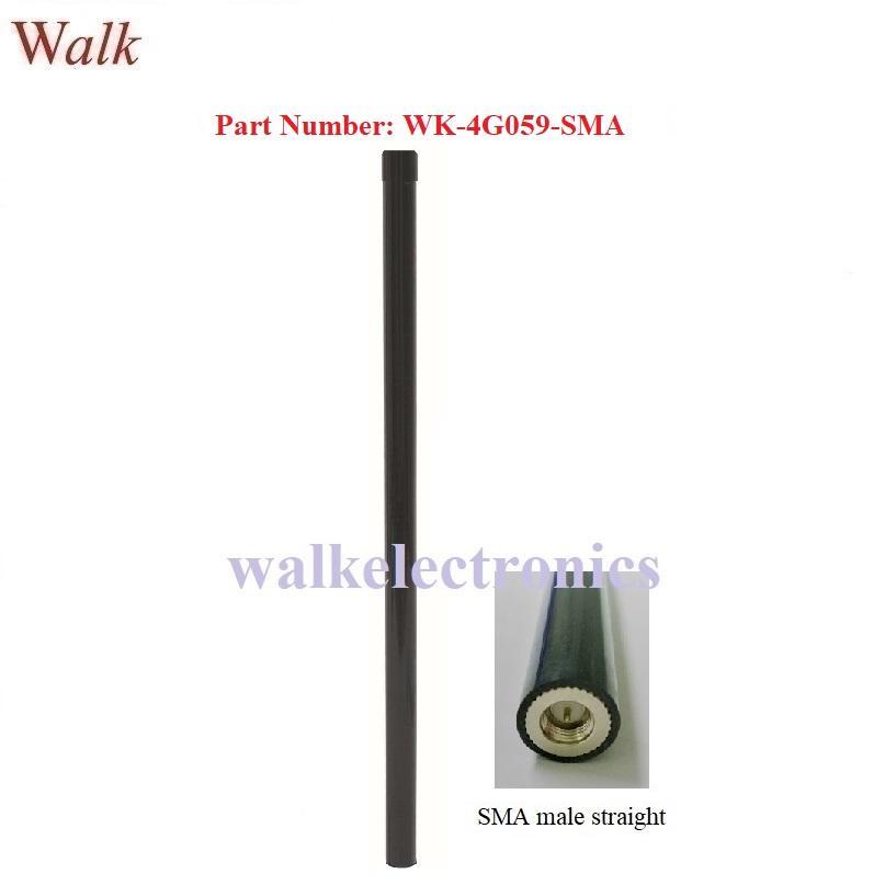 58cm 9dbi high gain SMA male weatherproof gsm 3g 4G LTE fiber glass antenna 1