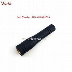 waterproof 50mm small SMA male 4G LTE rubber antenna LTE 4G stubby sma antenna
