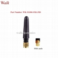 sma straight short GSM 3G multi band rubber aerial small gprs 3g stubby antenna