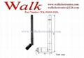 foldable 110mm length Swivel rubber GSM 3G multi band SMA stubby antenna 2