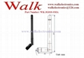 foldable 110mm length Swivel rubber GSM 3G multi band SMA stubby antenna