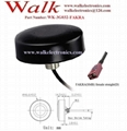FAKRA 47(dia)x14mm small size waterproof IP67 outdoor screw mount GSM 3g antenna