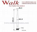 295mm 7.0dBi high gain N male 3G aerial foldable N male GSM 2g 3g rubber antenna