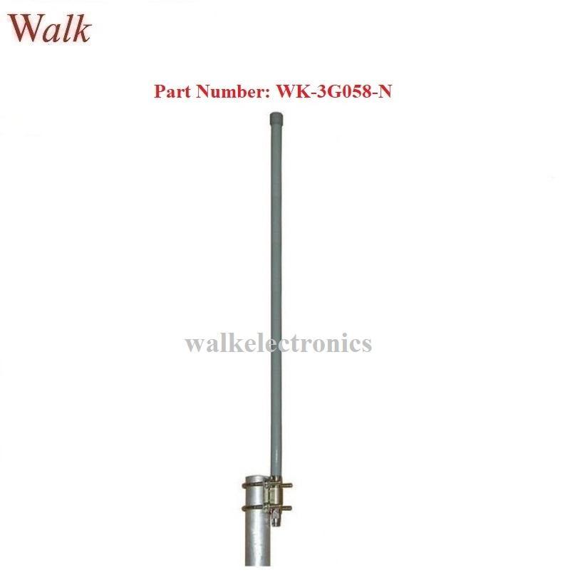 60cm N male 9.0dbi high gain outdoor use pole mount gsm 3g glass fiber antenna  1
