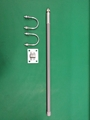 60cm N male 9.0dbi high gain outdoor use pole mount gsm 3g glass fiber antenna