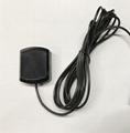 adhesive mount SMA male waterproof high gain active GPS car antenna