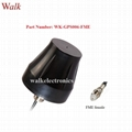 FME female small waterproof outdoor use screw mount high gain gps active antenna